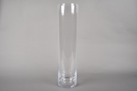 A212I0 Cylindric glass vase D15cm H68cm