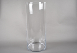 A213I0 Cylindric glass vase D23.5cm H60cm