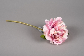 a214nn Artificial old pink peony H38cm