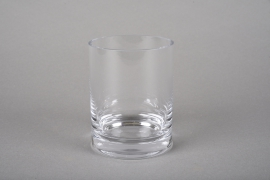 A216I0 Pot glass thick  D7.5cm H11cm