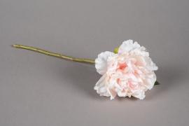 a216nn Artificial light pink peony H38cm