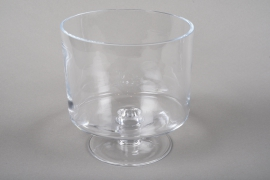 A217I0 Stem bowl glass D21cm H22cm