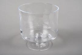 A217I0 Stem bowl glass D21cm H22cm