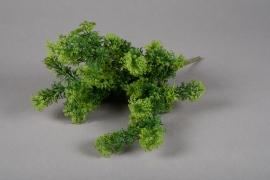 a218nn Piquet artificiel de feuilles de chrysantheme H36cm