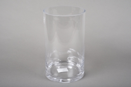 A221I0 Cylindric glass vase D13.5cm H25cm