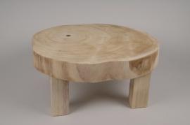 A221KI Table basse en bois D50cm H22cm