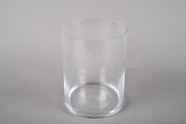 A223I0 Cylindric glass vase D15cm H20cm