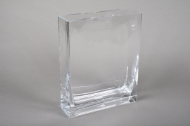 A226I0 Glass planter 20x6cm H25cm