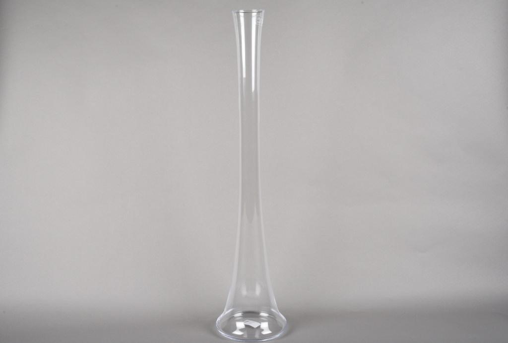A228I0 Vase en verre église H78cm