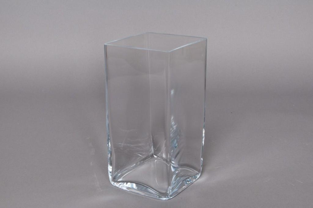A240W3 Vase en verre 10x10x20cm