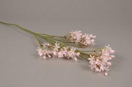 a242nn Alyssum artificiel rose H63cm