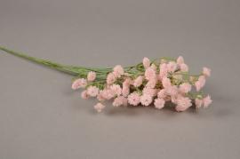 a246nn Pink artificial gypsophilia H54cm