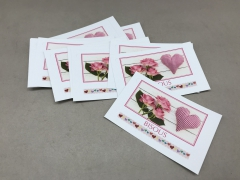 A247MQ Pack of 15 postcards Bisous