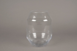 A248I0 Glass vase D19cm H25cm