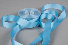 A261UN Ribbon turquoise blue 25 mm x 20m