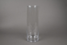 A263I0 Cylindric glass vase D24CM H40cm