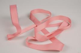 A264UN Pink ribbon 25mm x 20m