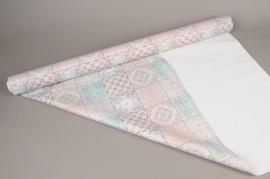 A265BD Rouleau de papier mat perle carrelage 80cm x 40m