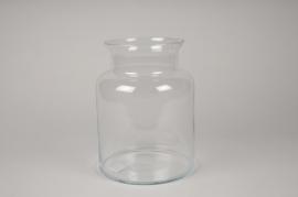 A266I0 Glass vase D19cm H25cm