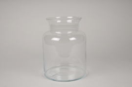A266I0 Vase en verre D19cm H25cm