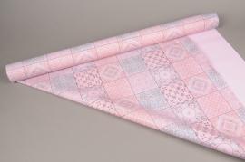 A267BD Rouleau de papier mat perle carrelage 80cm x 40m