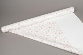 A270BD Rouleau de papier mat perle papillon 80cm x 40m