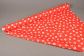 A273BD Rouleau de papier mat perle pois 80cm x 40m