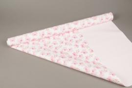 A274BD Rouleau de papier mat perle orchidée 80cm x 40m