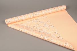 A276BD Cherry flower pearl polypropylene roll 80cm x 40m