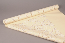A277BD Rouleau de papier mat perle cerisier 80cm x 40m