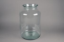 A278DQ Vase en verre D33cm H50cm