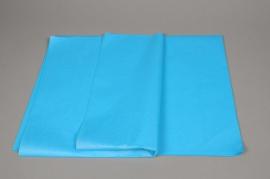 A280QX Paquet de 480 feuilles papier de soie turquoise 50 x 75cm