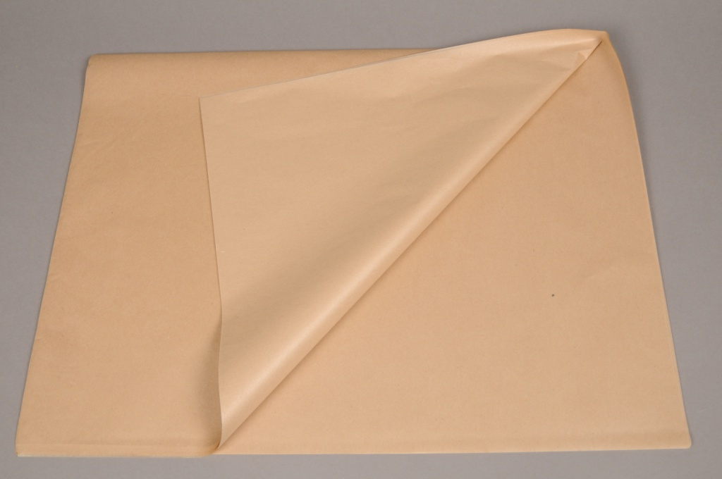 A282QX Ream of 240 tissue paper sheets kraft 50 x 75cm