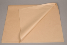 A282QX Ream of 240 tissue paper sheets kraft 50 x 75cm