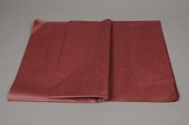 A283QX Paquet de 480 feuilles papier de soie lie-de-vin 50 x 75cm