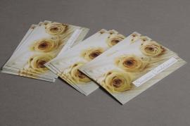 A284MQ Paquet de 15 cartes Sincères Condoléances