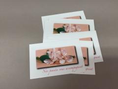 "A291MQ Paquet de 15 cartes ""Sincères Condoléances"""