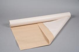 A293QX Ecru Kraft paper roll 80cm x 50m