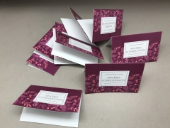 A294MQ Paquet de 10 cartes Sincères condoléances