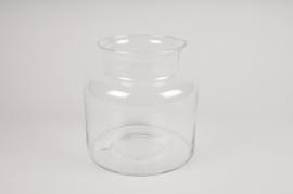 A299I0 Glass vase D19cm H19cm