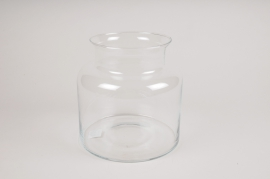 A299I0 Vase en verre D19cm H19cm