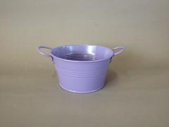 A300KM Lavender zinc bowl D15cm H8cm