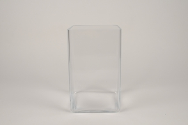 A310I0 Vase en verre 15x15cm H25cm