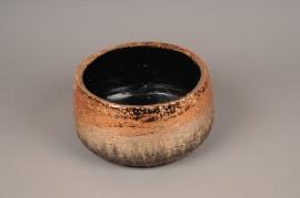 A325HX Copper ceramic bowl H10cm