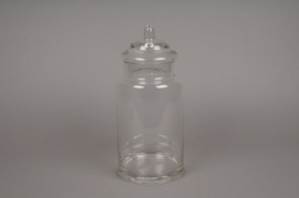 A333DQ Glass sweetbox D13cm H28.5cm