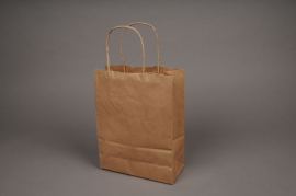A349IX Bag of 50 bags kraft natural 32x12cm H41cm