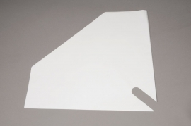 A355MO Paquet de 50 housses blanches 40x40cm
