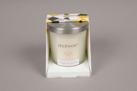 A361NG Scented candle in glass FLEURS BLANCHES