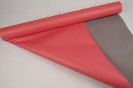 A366IX Rouleau de papier offset rouge 80cmx50m