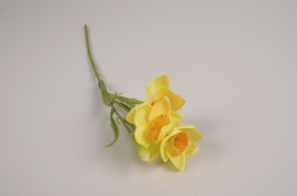 a383nn Artificial yellow daffodil H36cm